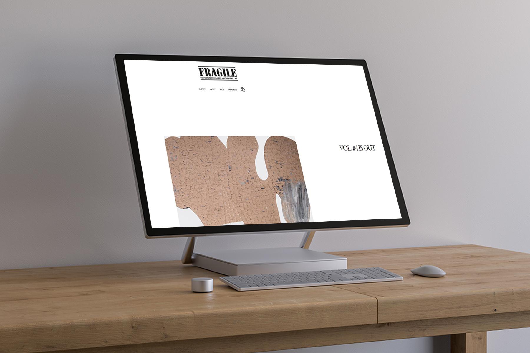 Web Design: Fragile Magazine